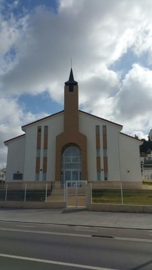 Iglesia de los Mormones Cádiz.2.Fachada Ventilada Faveton.
